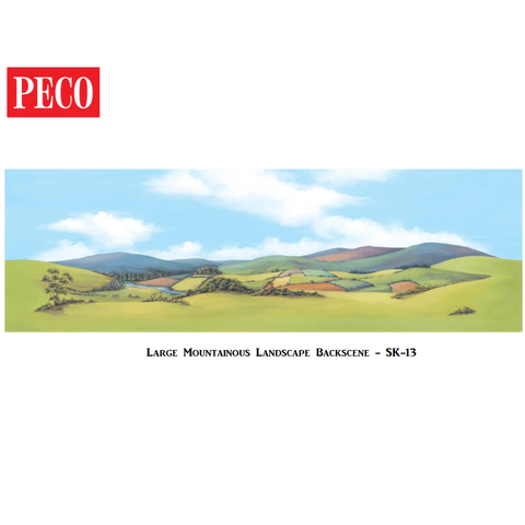 Large Mountainous Landscape Backscene - PECO - SK13