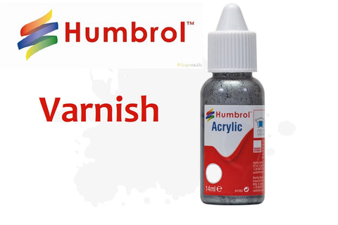 Varnish - Dropper Bottle - Humbrol