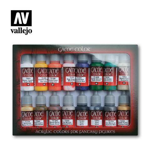 Game Color Introduction Set - Vallejo - 72.299