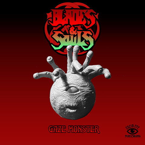 Gaze Monster - Lucid Eye Blades & Souls - GAZE