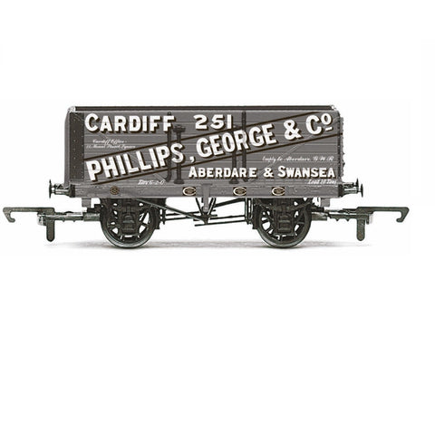7 Plank Wagon, Philips, George & Co. - Era 3 - R6813 - Hornby