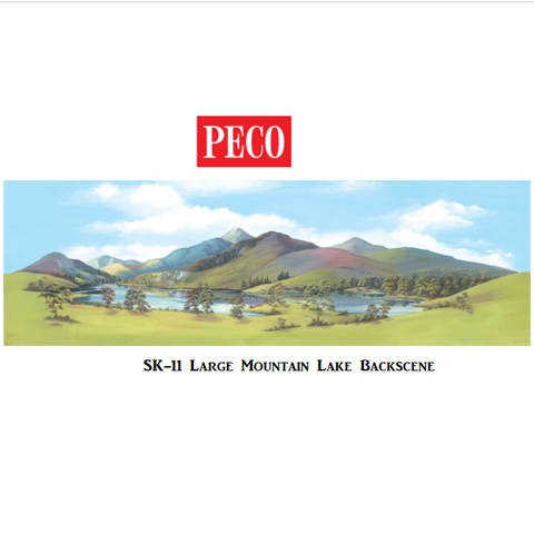 Large Mountain Lake Backscene - PECO - SK11