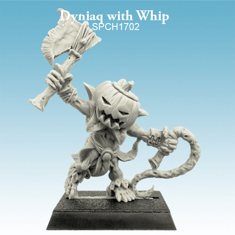 Dyniaq with Whip - SpellCrow - SPCH1702