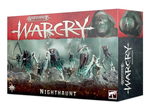 Nighthaunt Warband (Warcry) :www.mightylancergames.co.uk
