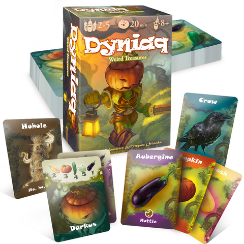 Dyniaq Weird Treasures - Card Game - SpellCrow - SPCG0002