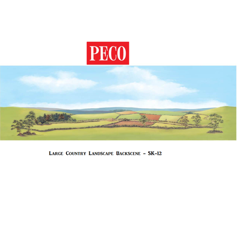 Large Country Landscape Backscene - PECO - SK12
