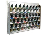 Wall Mounted Paint Display - Vallejo Acrylics -  AV Acrylics -  (17ml)