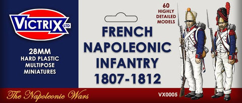 French Napoleonic Infantry 1807 - 1812 (Victrix VX0005)