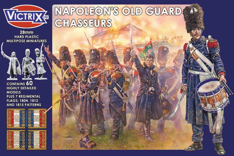 Napoleon's French Old Guard Chasseurs (Victrix VX0011)