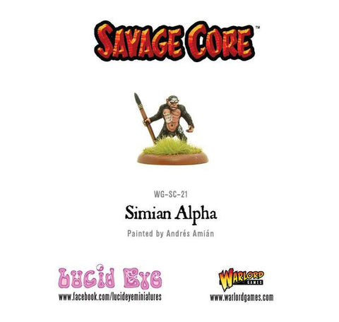 Savage Core: Simian Alpha
