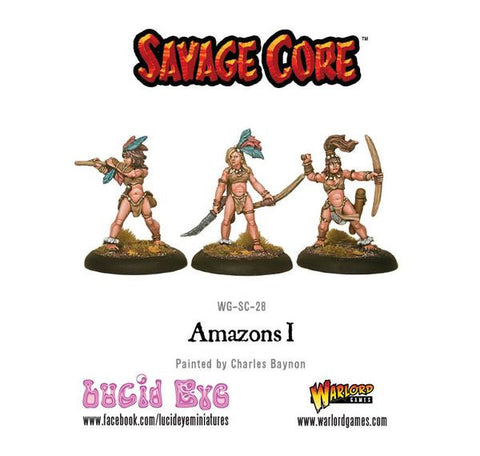 Savage Core: Amazons Pack 1