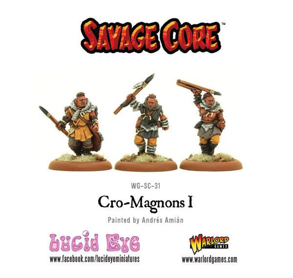 Savage Core: Cro Magnon Warriors Pack 1