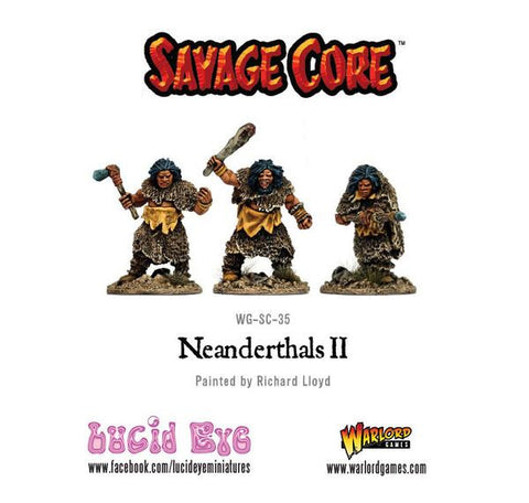 Savage Core: Neanderthal Warriors Pack 2