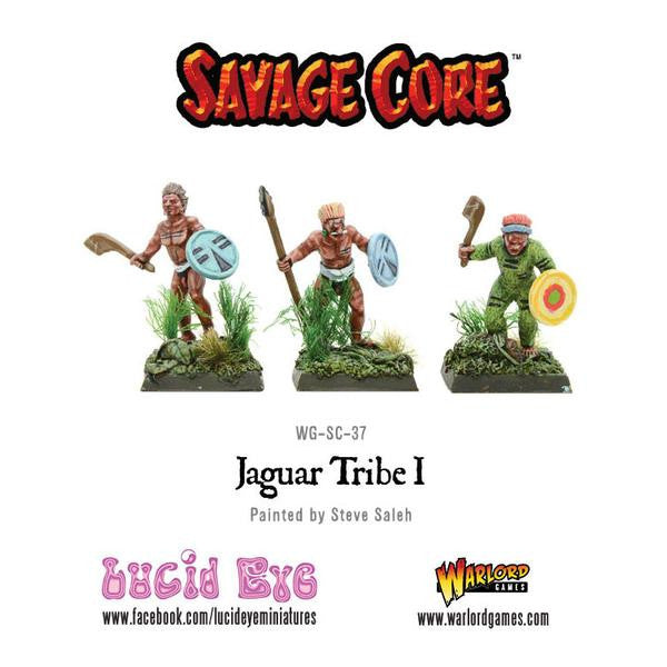 Savage Core: Jaguar Tribe Pack 1 (3 figs)