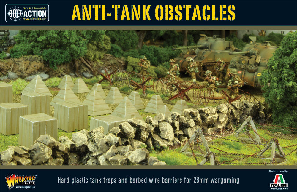 Bolt Action: Anti-Tank Obstacles plastic box set