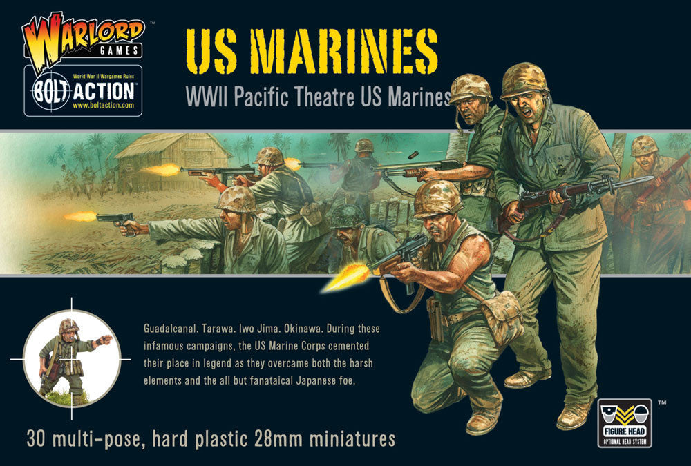 US Marines, WWII Pacific Theatre - Bolt Action: www.mightlancergmaes.co.uk