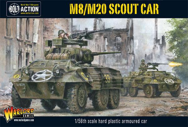 Bolt Action: US M8/M20 Greyhound Scout Car (Plastic Box)