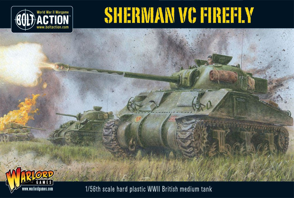 Sherman VC Firefly - British (Bolt Action) :www,mightylancergames.co.uk