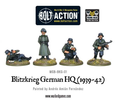 Bolt Action: German Blitzkrieg German HQ (1939-42)