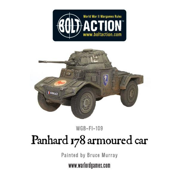 Bolt Action: French Panhard 178 armoured car