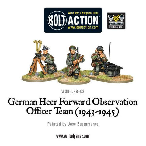 Bolt Action: German Heer FOO team (1943-45)