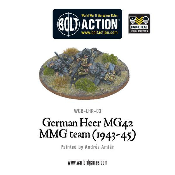 German Heer MG42 MMG Team (1943-45) - (Bolt Action)
