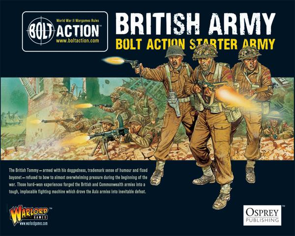 Bolt Action: British 1,000pt starter army