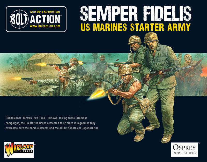 US Marines - USA (Bolt Action) :www.mightylancergames.co.uk