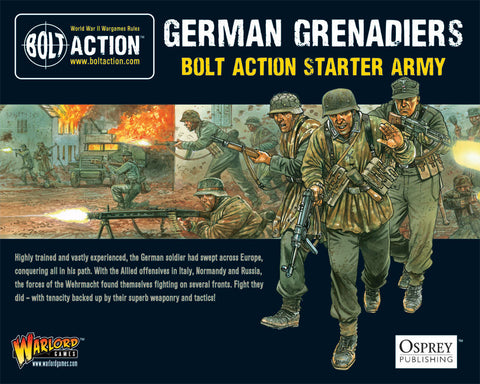 German Grenadiers Starter Army - Bolt Action :www.mightyylancergames.co.uk