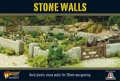 Bolt Action: Terrain - STONE WALLS PLASTIC BOXED SET