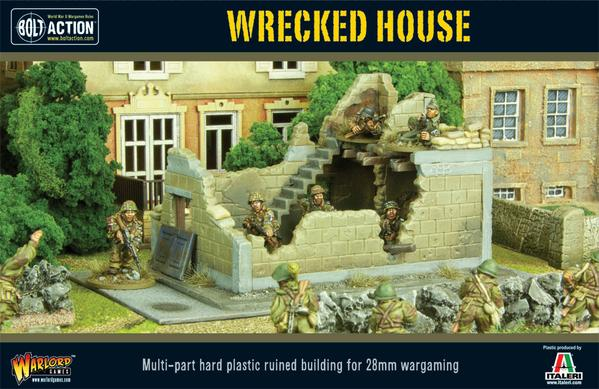 Bolt Action: Terrain - Wrecked House