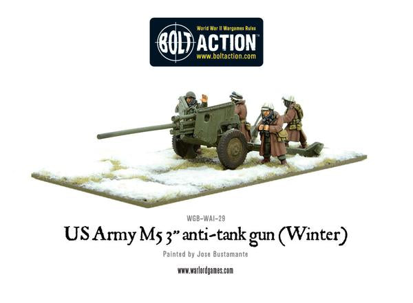 "Bolt Action: US Army M5 3"" anti-tank gun [winter]"