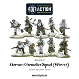 German Grenadiers in Winter Clothing  (Bolt Action) :www.mightylancergames.co.uk
