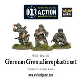 Bolt Action: German Grenadiers plastic box set