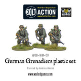 German Grenadiers WWII Late War Infantry - Bolt Action :www.mightylancergames.co.uk
