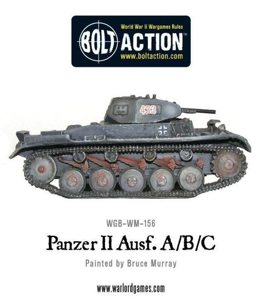 Bolt Action: German Panzer II Ausf. A/B/C
