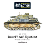 Bolt Action: German PANZER IV AUSF. F1/G/H MEDIUM TANK (PLASTIC)