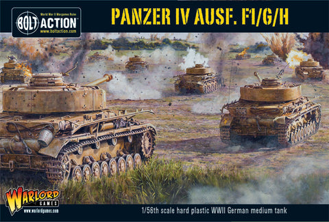 Panzer IV Ausf. F1/G/H - Germany (Bolt Action) :www.mightylancergames.co.uk