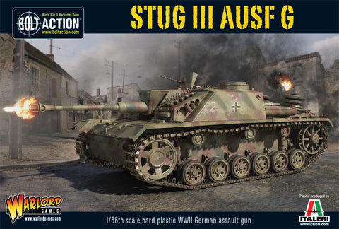 Bolt Action: German Stug III ausf G or StuH-42 plastic box set