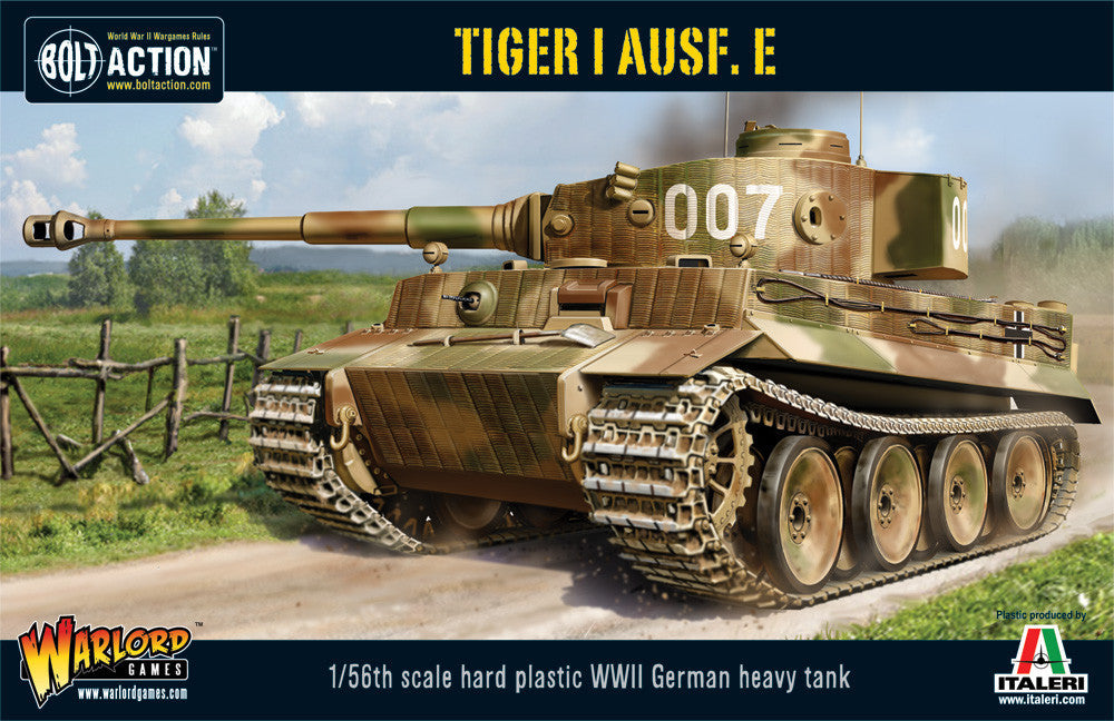 Tiger I Ausf. E Heavy Tank (Plastic Kit) - Bolt Action: www.mightylancergames.co.uk