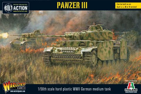 Bolt Action: German Panzer III (Plastic Box)