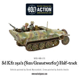 Bolt Action: German SD.KFZ 251/2 AUSF D (8CM GRANATWERFER) HALF TRACK
