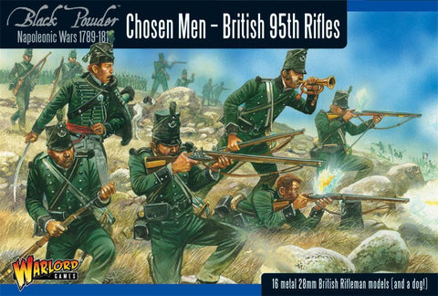 95th Rifles Chosen Men - Waterloo (black powder)