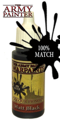The Army Painter: Warpaints - Matt Black