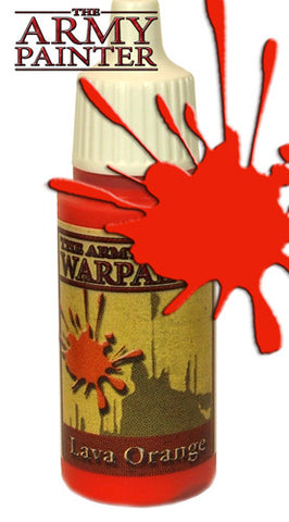 Army Painter: Warpaints - Lava Orange