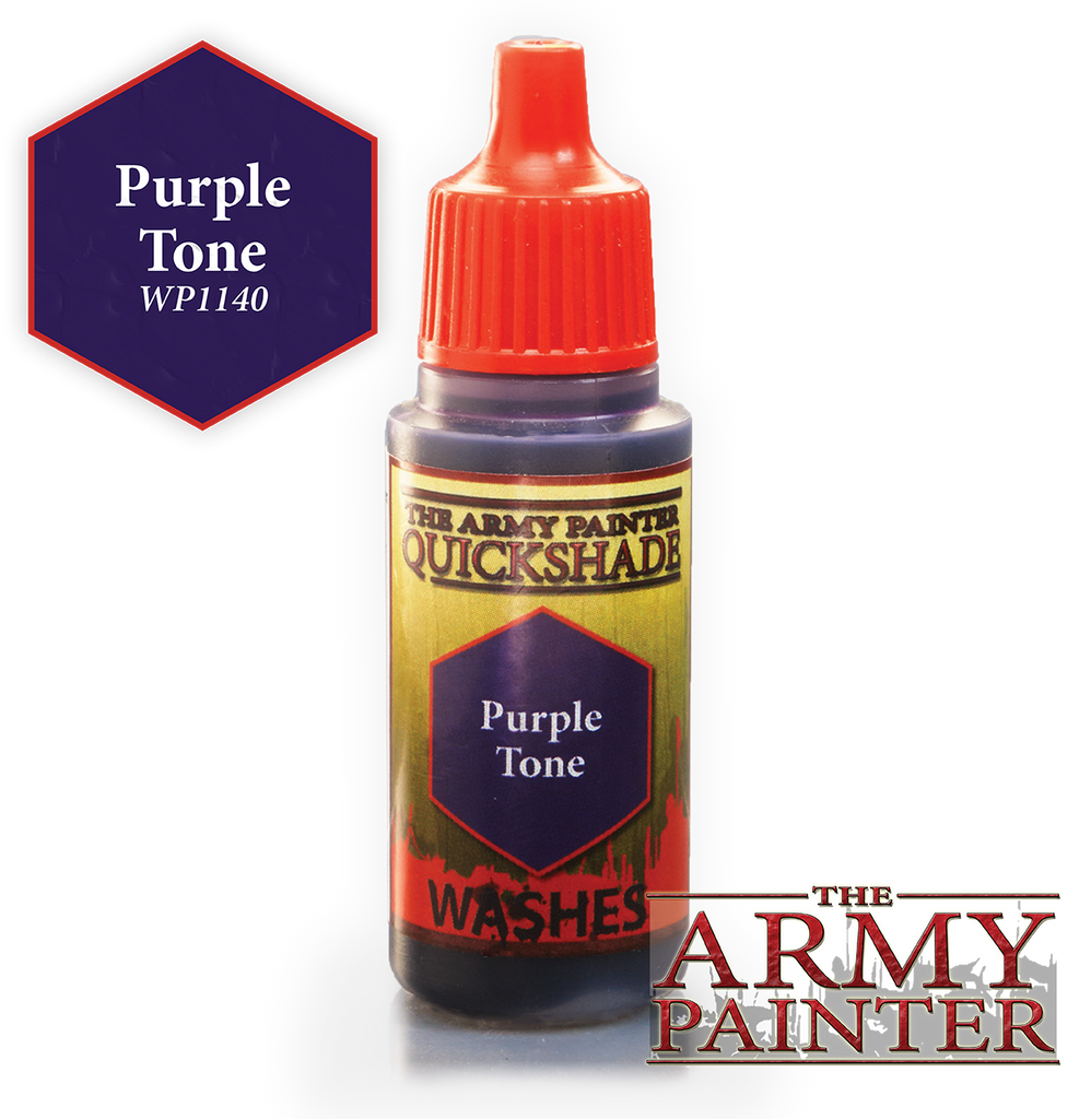 The Army Painter: Warpaints - Quickshade Purple Tone Wash