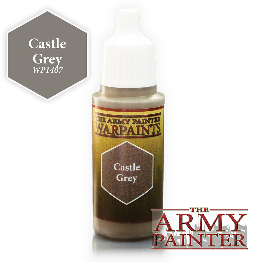 The Army Painter: Warpaints - Castle Grey