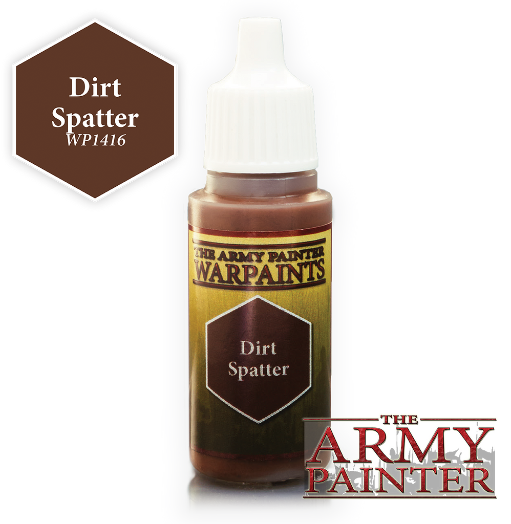 The Army Painter: Warpaints - Dirt Spatter