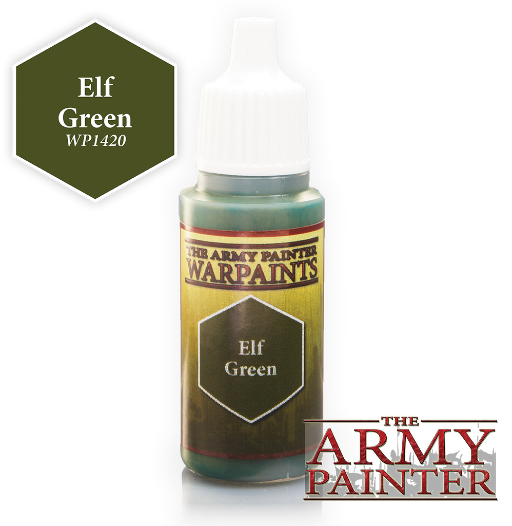 The Army Painter: Warpaints - Elf Green