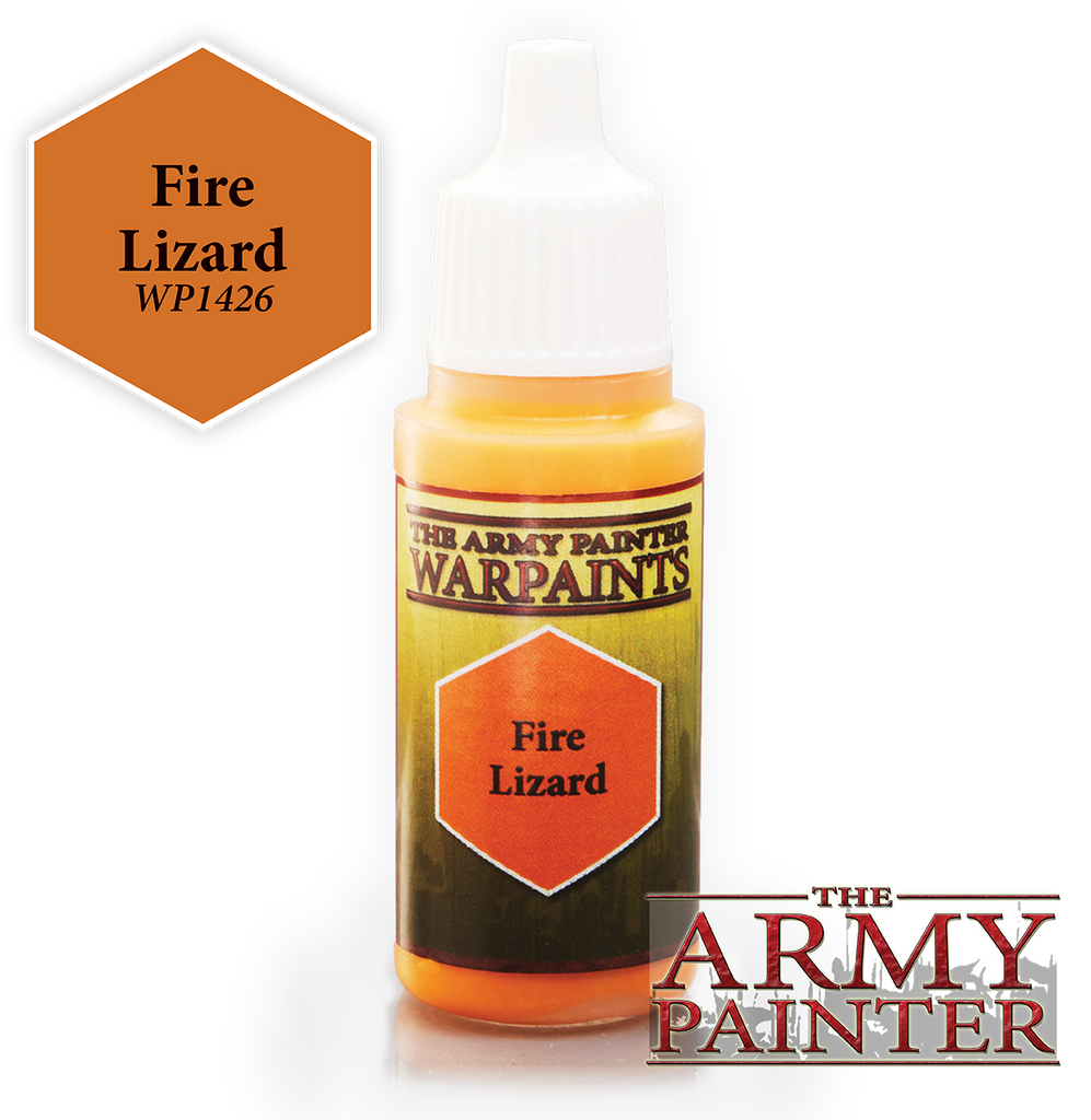 The Army Painter: Warpaints - Fire Lizard